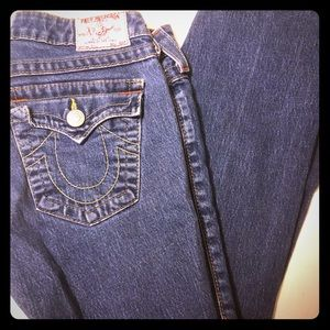 True religion straight leg jean.